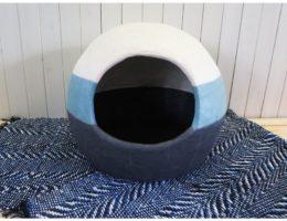 手漉き和紙(国産)の猫ハウス【チョビータ】